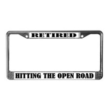 Retirement Humor License Plate Frame