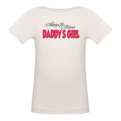 Always & Forever Daddy's Girl Organic Baby T-S