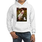 Windflowers / Eskimo Spitz #1 Hooded Sweatshirt