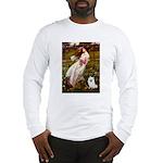 Windflowers / Eskimo Spitz #1 Long Sleeve T-Shirt