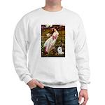 Windflowers / Eskimo Spitz #1 Sweatshirt