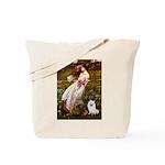 Windflowers / Eskimo Spitz #1 Tote Bag