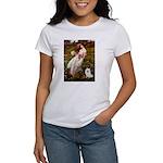 Windflowers / Eskimo Spitz #1 Women's T-Shirt
