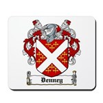 Denney Coat of Arms Mousepad