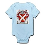 Denney Coat of Arms Infant Creeper