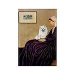 Whistlers / Eskimo Spitz #1 Rectangle Magnet (100