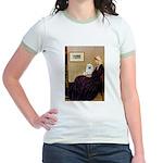 Whistlers / Eskimo Spitz #1 Jr. Ringer T-Shirt