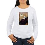 Whistlers / Eskimo Spitz #1 Women's Long Sleeve T-
