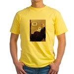 Whistlers / Eskimo Spitz #1 Yellow T-Shirt
