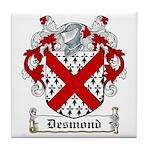 Desmond Coat of Arms Tile Coaster