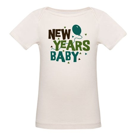 New Years Baby Organic Baby T-Shirt