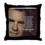 Inspiration President Nixon Throw Pillow