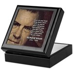 Inspiration President Nixon Keepsake Box