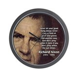 Inspiration President Nixon Wall Clock