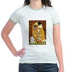 Kiss / Eskimo Spitz #1 Jr. Ringer T-Shirt