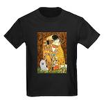 Kiss / Eskimo Spitz #1 Kids Dark T-Shirt