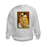 Kiss / Eskimo Spitz #1 Kids Sweatshirt