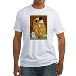 Kiss / Eskimo Spitz #1 Fitted T-Shirt