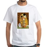 Kiss / Eskimo Spitz #1 White T-Shirt
