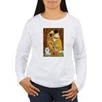 Kiss / Eskimo Spitz #1 Women's Long Sleeve T-Shirt
