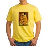 Kiss / Eskimo Spitz #1 Yellow T-Shirt