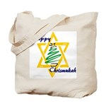 Happy Chrismukah Tote Bag