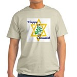 Happy Chrismukah Ash Grey T-Shirt