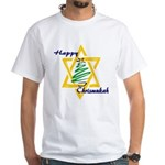Happy Chrismukah White T-Shirt
