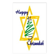 Happy Chrismukah Postcards (Package of 8)