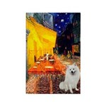 Cafe / Eskimo Spitz #1 Rectangle Magnet (10 pack)