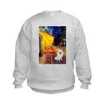 Cafe / Eskimo Spitz #1 Kids Sweatshirt