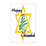 Happy Chrismukah Mini Poster Print