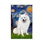 Starry / Eskimo Spitz #1 Sticker (Rectangle)