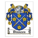 Dinneen Coat of Arms Small Poster