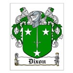 Dixon Coat of Arms Small Poster