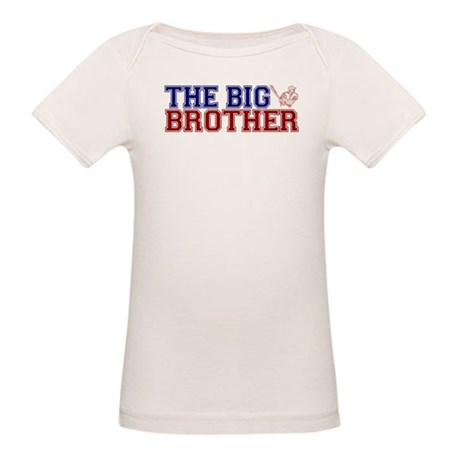 The Big Brother Baseball Organic Baby T-Shirt