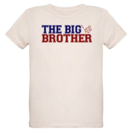 The Big Brother Baseball Organic Kids T-Shirt