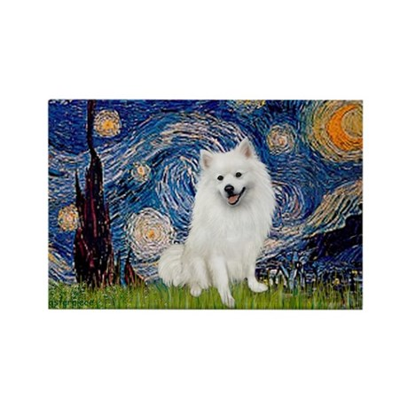 Starry / Eskimo Spitz #1 Rectangle Magnet