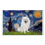 Starry / Eskimo Spitz #1 Sticker (Rectangle 50 pk)