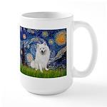 Starry / Eskimo Spitz #1 Large Mug