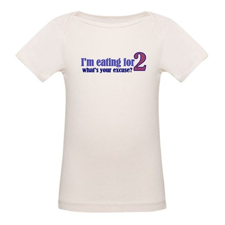 Eating For 2 Organic Baby T-Shirt
