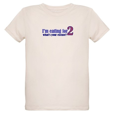Eating For 2 Organic Kids T-Shirt