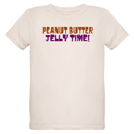 Peanut Butter Jelly Time Organic Kids T-Shirt