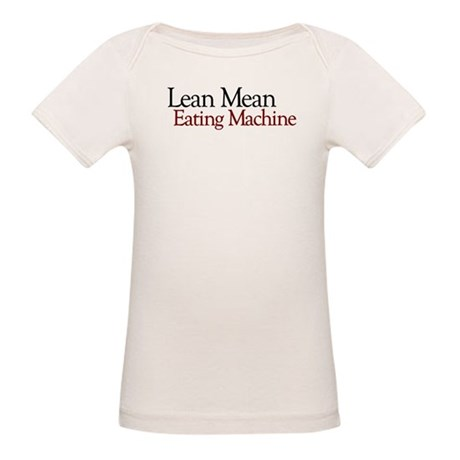 Lean Mean Eating Machine Organic Baby T-Shirt