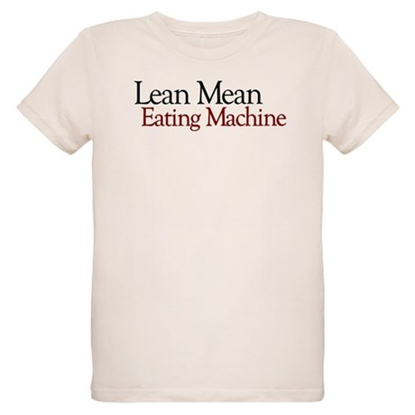 Lean Mean Eating Machine Organic Kids T-Shirt