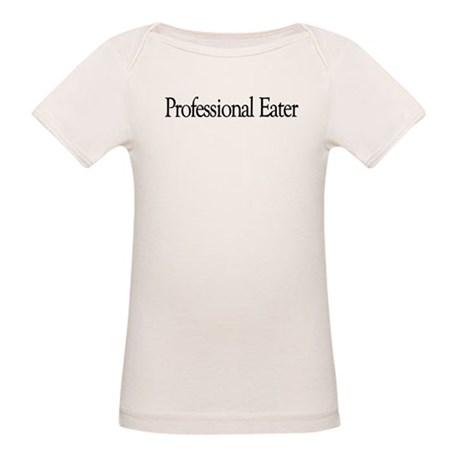 Professional Eater Organic Baby T-Shirt