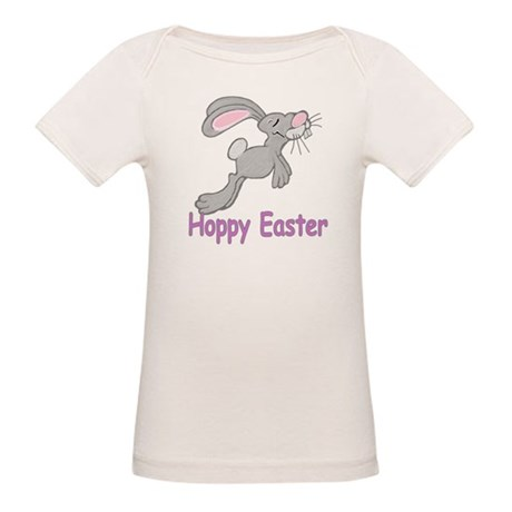 Hoppy Easter Organic Baby T-Shirt
