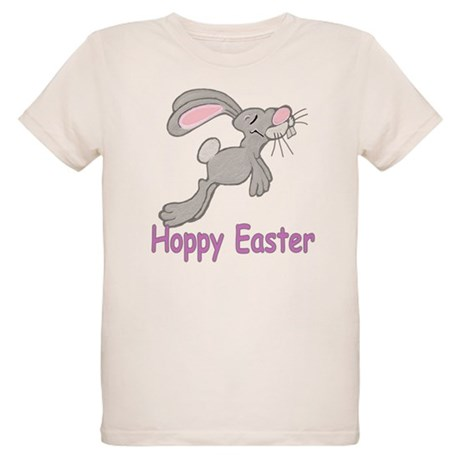 Hoppy Easter Organic Kids T-Shirt