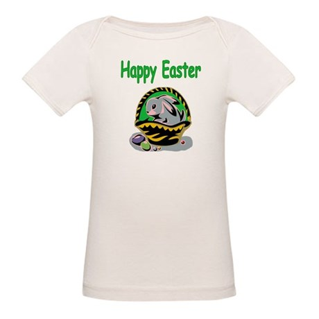 Happy Easter Basket Organic Baby T-Shirt