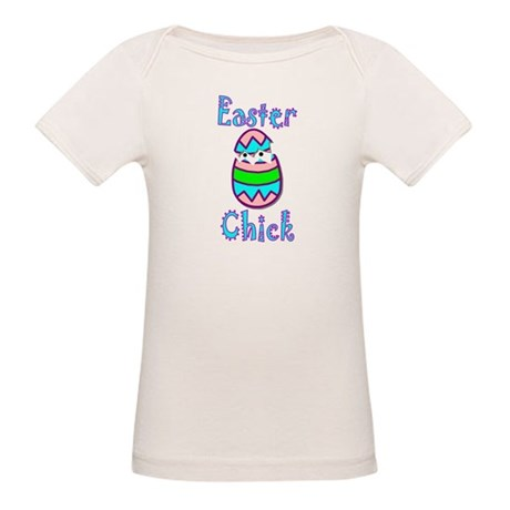 Easter Chick Organic Baby T-Shirt